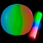 Giant Beach Ball with LED Stick - 24