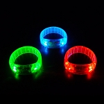 Assorted 3 Mode Flashing Bracelets