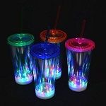 LED 16oz Tumbler- Clear