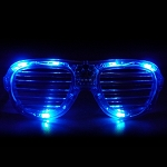 Blue LED Shutter LED Glasses