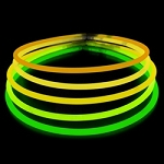"Color changing 22"" Necklaces: Orange to Green (50-Pack)"