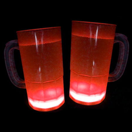 home glow in the dark cool glow mugs 12oz red 30 per pack. Black Bedroom Furniture Sets. Home Design Ideas