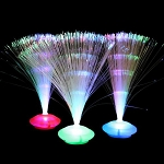 Fiber Optic UFO Centerpiece
