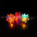Flashing Star Ball Necklaces (24-Pack)
