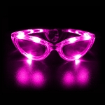 Flashing Sunglasses - Pink