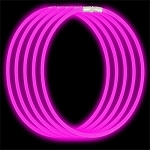 Economy Glow Necklaces: Pink (50-Pack)