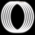 Economy Glow Necklaces: White (50-Pack)