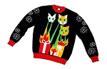 Kids, Ugly Christmas Sweater: Laser Cat-Zillas, Kids