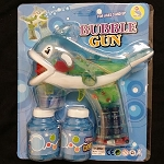 Blue Whale Bubble Gun - 2 Bottles