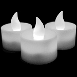 LED Flicker Candles- White
