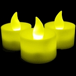 LED Flicker Candles - Yellow