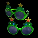 Light-up Christmas Tree Sunglasses