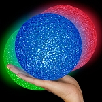 Light Up Granular Ball, RGB