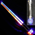 Multi-color Strobe Expandable Sword With Diamond Ball