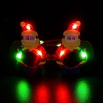 Light-up Santa Sunglasses
