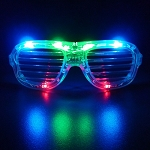 Multicolor LED Shutter Glasses