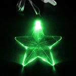 LED Pendant- Green Star