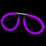 Purple Glow Eyeglasses (12 Pack)