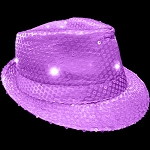 Flashing Fedora- Purple