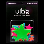 Blacklight Reactive Neon Multicolor Star Pieces - 24 Piece Set