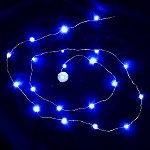 Waterproof LED String LED Light - Blue