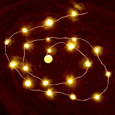 Led String Lights Orange : Waterproof LED String LED Light - Orange
