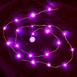 Waterproof LED String LED Light - Pink