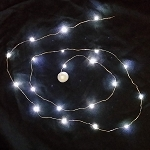 Waterproof LED String LED Light - White