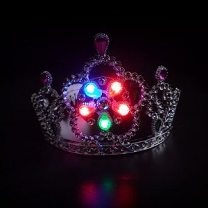 Light Up Tiara- Multi-color