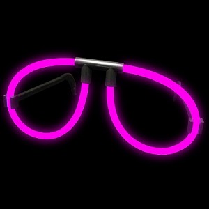 Pink Glow Glasses (50-Pack)