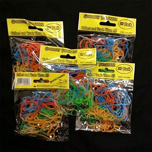 Glow In The Dark Rubber Bandz- Musical