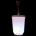 12oz Flashing Cup with Straw