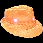 Flashing Fedora- Neon Orange