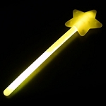 Yellow Glow Star Wand